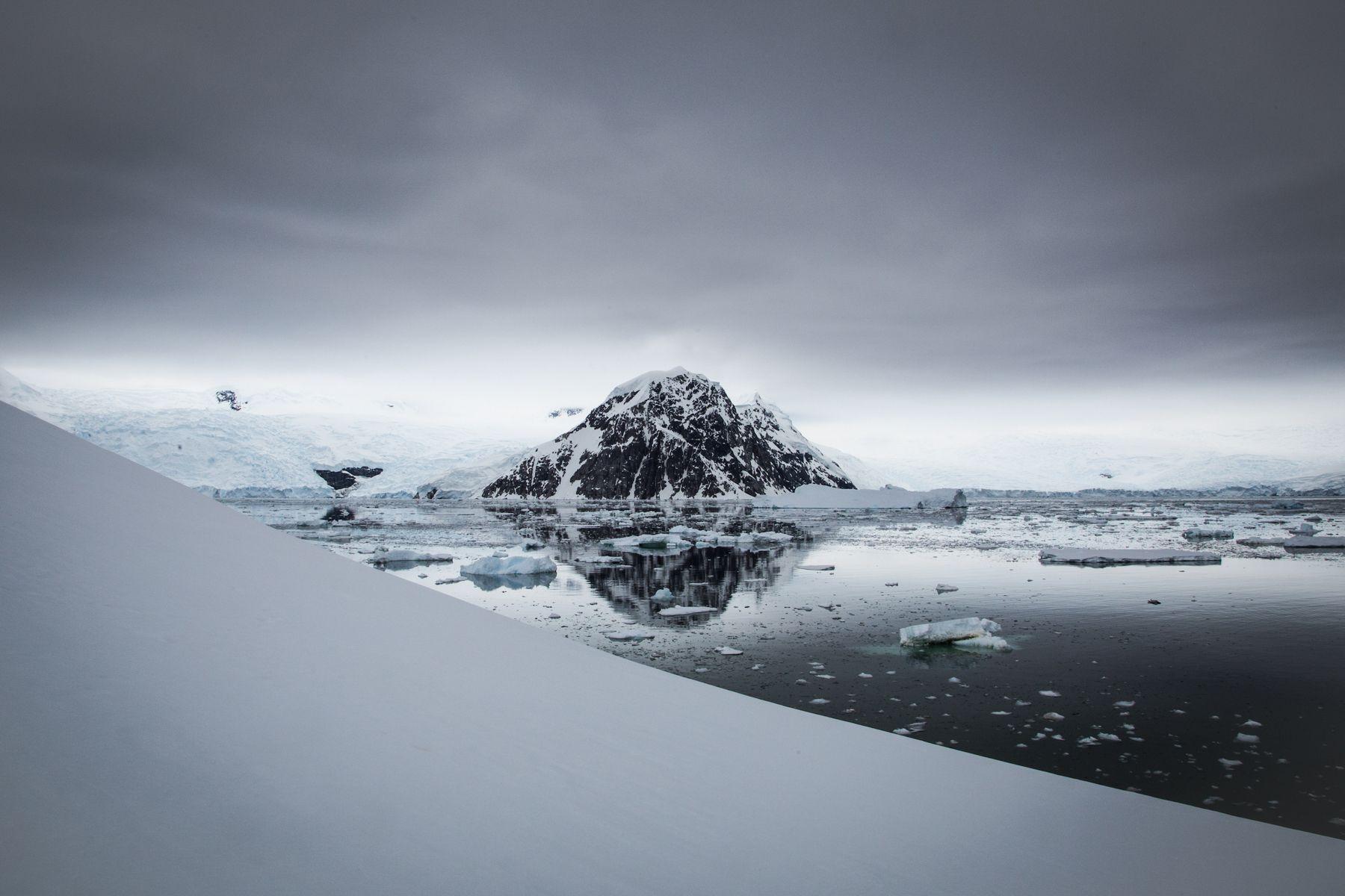 Neko Harbour landscape, Antarctica