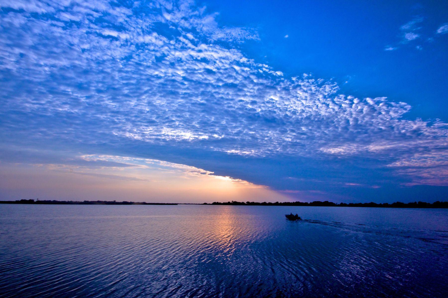 Botswana sunrise